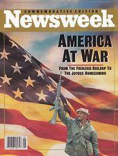 Newsweek America At War Magazine Spring/Summer 1991 Commemorative Edition Rare