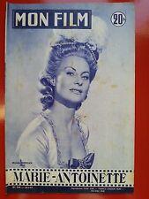 23/01/57 MON FILM n°544 MICHELE MORGAN dans MARIE ANTOINETTE