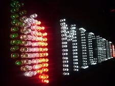 SCRITTA LUMINOSA a LED per CAMION a 12 o 24 V - Altezza dei caratteri 10 cm. -