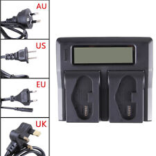 LCD Dual Charger for Canon LP-E19 LP-E4 LC-E19 LP-E19 EOS-1DX Mark II Mark 2