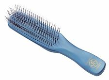 S-HEART-S Scalp Brush Blue Gray Massage Shampoo Blow Hair Styling F/S From Japan