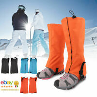 Climbing Hiking Snow Ski Shoe Leg Cover Boot Legging Gaiters Outdoor Waterproof