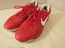 Nike Zoom Cage 2 Red and White Size 10.5 - (705247-510)