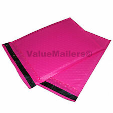 25 #2 PINK Poly Bubble Mailers Envelopes Padded Mailer Shipping Bags 8.5x12