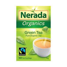 Nerada Organics Pure Green Tea Bags 50 pack 75g