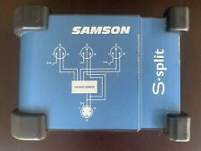 Samson S-split 3-Way Microphone Mic Splitter Samson S-Split - Free Shipping!