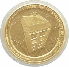 Niue - 2013- 1 Oz Gold Proof Coin - Doctor Who 50th Anniversary Tardis - Scarce