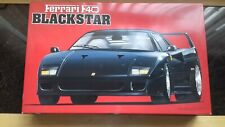 Vintage Fujimi 1/16 Ferrari F40 'Blackstar' model kit