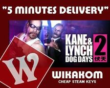 Kane and Lynch Collection Dead men + 2 Dog days + DLCs steam key