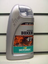 MOTOREX 5W40 BMW BOXER SYNTHETIC PERFORMANCE 1 LITRE