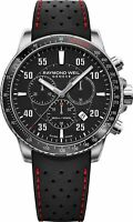 Raymond Weil Swiss Tango Chronograph Black Dial Mens Quartz Watch 8570-SR1-05207