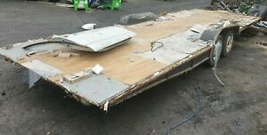 twin wheel trailer . Ideal For Conversion ( Project )