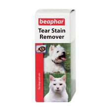 Beaphar Dog Cat Tear Stain remover Removes stains around the eyes 50ml