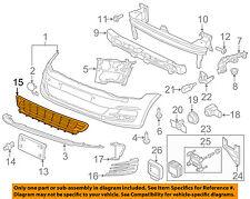 VW VOLKSWAGEN OEM 15-16 GTI-Grille Grill-Center 5GM853677D9B9