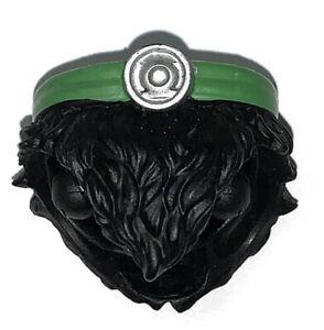 Custom MOTU ORIGINS Green Lantern Waist - Masters WWE Universe Classics Parts