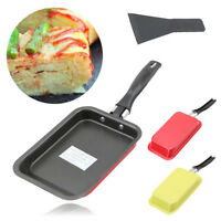 Japanese Square Rectangular Grill Frying Pan Tamagoyaki Egg Roll Sushi Omelette