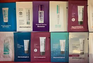 Dermalogica samples travel trial size sachets