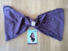 Baby K'tan Original Baby Carrier Wrap Purple Medium 8 - 35lbs With Instructions