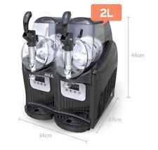 Frozen Drink Slush Slushy Making Machine Juice Smoothie Maker 2*2L