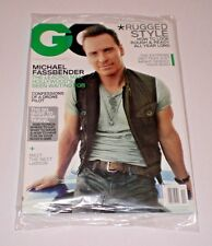 MICHAEL FASSBENDER GQ Magazine November 2013 11/13 SEALED A-2-2
