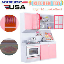 Kitchen Play Set Pretend Baker for Kids Toy Cooking Playset Girls&Boys Xmas Gift