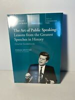 The Art Of Public Speaking: Lessons From The Greatest Speeches In History DVD &