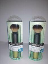 EcoTools Retractable Face Travel Foundation Brush for Blush Bronzer & Powder