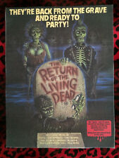 """Return of the Living Dead Back Patch 11"""" X 14.5"""" Horror Punk Psychobilly Metal"""