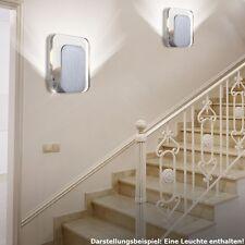 Luxus LED Wand Leuchte ALU gebürstet Lampe Treppenhaus Beleuchtung Energie Spar