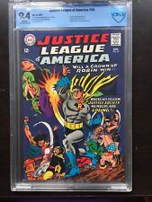 JUSTICE LEAGUE OF AMERICA #55 CBCS NM 9.4; White pg!; 1st Golden Age Robin app.!