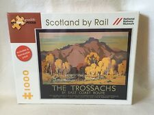 Pomegranate Jigsaw Puzzle 1000 piece Scotland by Rail  New Unopened