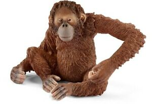 Schleich 14775 Orang Utan Females 3 1/8in Series Wild Animals
