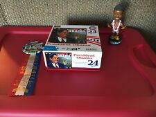 Barack Obama Puzzle, Bobble Head, Inauguration Button
