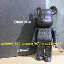 Bearbrick Medicom 2016 Karimoku Crack Paint Wooden 400% Be@rbrick Wood