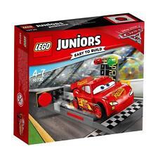 LEGO ® Juniors CARS 3 Set 10730/Lightning MCQUEENS Rampa di accelerazione
