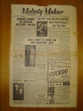 MELODY MAKER 1949 JAN 29 JOHN HAIM DIES JOE LOSS JAZZ