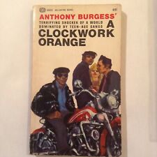 A Clockwork Orange - Anthony Burgess - 1St Printing Ballantine 1965 - Vg-Vg+