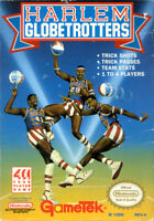 Harlem Globetrotters Nintendo Nes Cleaned & Tested Cart Only Authentic