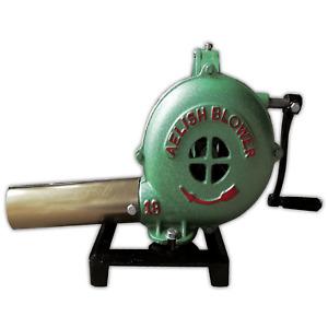 Mini Hand Crank Blacksmith Forge Blower, Manual Fan
