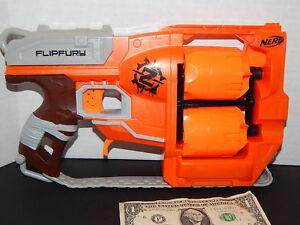 Nerf Zombie Strike FlipFury Blaster Fun Boys Kids Foam Dart Gun Toy