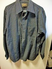 Vtg Sir Pendleton WOOL Plaid Shirt XL Classic Blue Green Red Yellow Chest Pocket