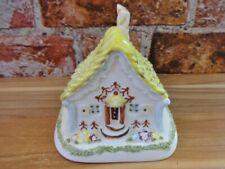 Rare Coalport Cottage Gingerbread House