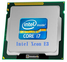 Intel Xeon E3-1270 processor CPU Quad Core 3,8GHz LGA1155 / Core i7-3770 i7-4770