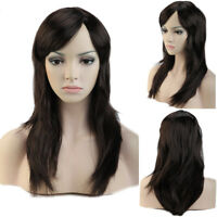 Cosplay Anime Full Wigs Long Straight Hair Wig Highlight Multi-Colour For Women