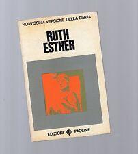 nuovissima versione  della bibbia - ruth - ester -  - edizioni paoline