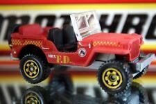 2013 Matchbox Outdoor Exclusive Jeep Willys