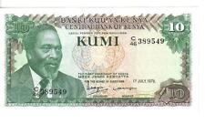 KENYA, 10  SHILLINGS, 1978, UNC