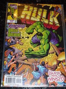 HULK Comic - Vol 1 - No 2 - Date 05/1999 - Marvel Comic's ( Cover variant 1 )