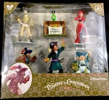 Disney Park Pirates Of The Caribbean Collectible Figures Set of 6 GLOBAL SHIP