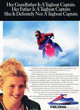 1994 Polaris SL650 Ski Jet - Original ATV Advertisement Print Ad J234